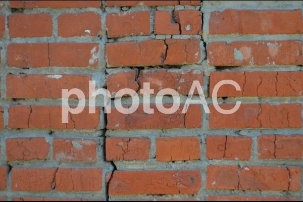 古いレンガの壁(レンガ背景)2の写真