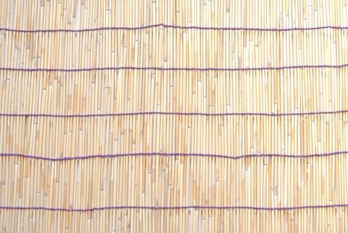 すだれ スダレ テクスチャ 夏の背景 お祭り 竹細工 日よけ
