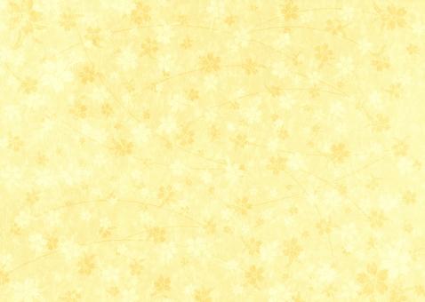 さくら しだれ桜 サクラ 桜 和桜 和風地紋 和柄 背景 テクスチャー テクスチャ 和紙 バックグラウンド 雅 日本 文様 お正月 慶事 お祝い