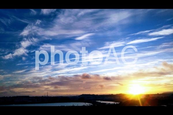 瀬長島からの風景の写真