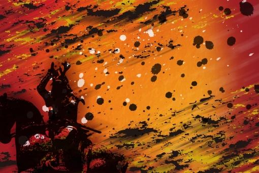 フレーム バック 壁紙 戦国 大河 ドラマ 侍 サムライ samurai ジャパン japan 日本 バックグラウンド 金 赤 黒 江戸 戦 いくさ 真田丸 イメージ 和風 wagara 和柄 時代