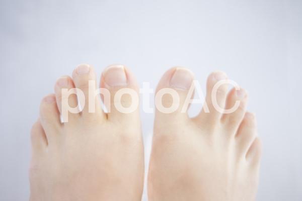 足の指 #2の写真