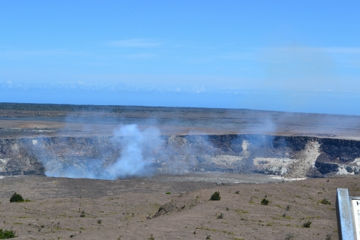 マグマ 噴火口 穴 ハワイ 巨大 キラウエア 火山 ハワイ島 キラウエア火山 火口