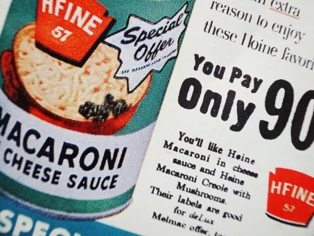マカロニ 缶づめ ポップ アメリカンテイスト オールドアメリカ アメリカン 小物入れ 背景 緑