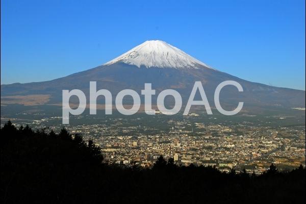 箱根からの富士山の写真
