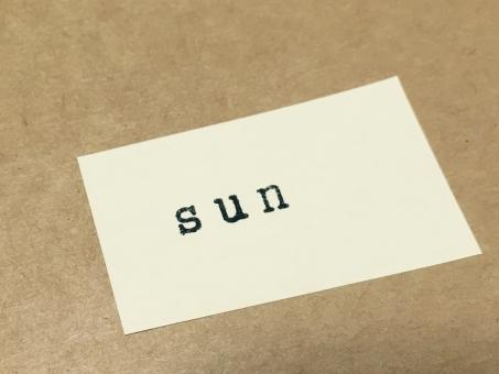 stamp スタンプ アルファベット 文字 英語 英字 壁 メッセージ メモ 紙 背景 素材 背景素材 壁紙 サイン 曜日 ウィーク ウィークデー week 休日 週末 sunday sun 日曜日 日曜 日 太陽 おひさま お日様