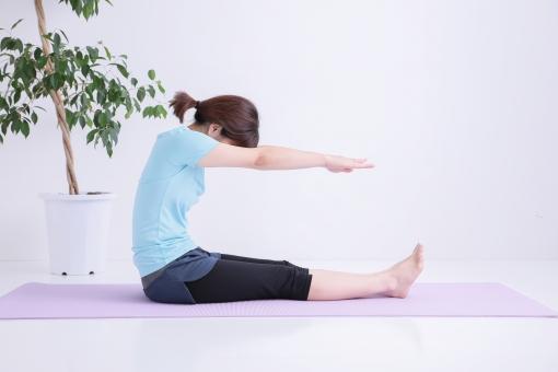 前屈運動 肩のリラクセーションstooping Exercise すぐに使える