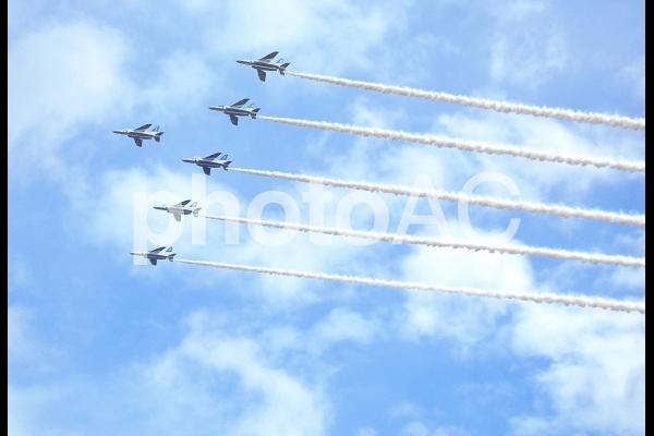 岐阜航空祭ブルーインパルス リーダーズベネフィットの写真
