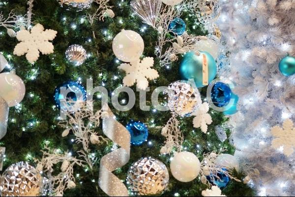 イルミネーション クリスマスイメージの写真