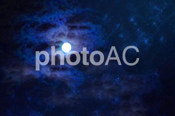 月のゆらめきの写真