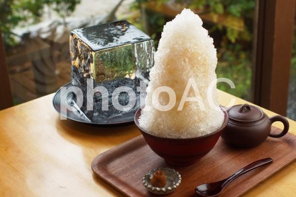 かき氷イメージの写真