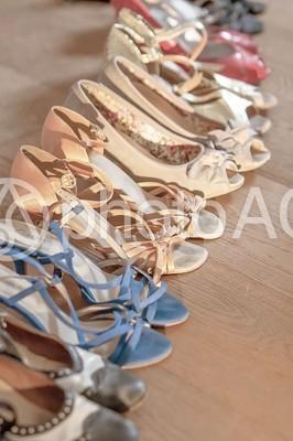 靴と風景21の写真