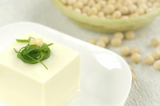 食べ物 食物 豆腐 大豆 大豆製品 豆 冷やっこ 冷奴 冷や奴 夏 健康 美容 蛋白質 たんぱく質 タンパク質 栄養 イソフラボン ダイエット 料理 食事 クッキング