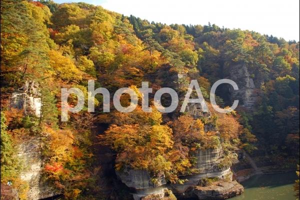 塔のへつりの自然の写真