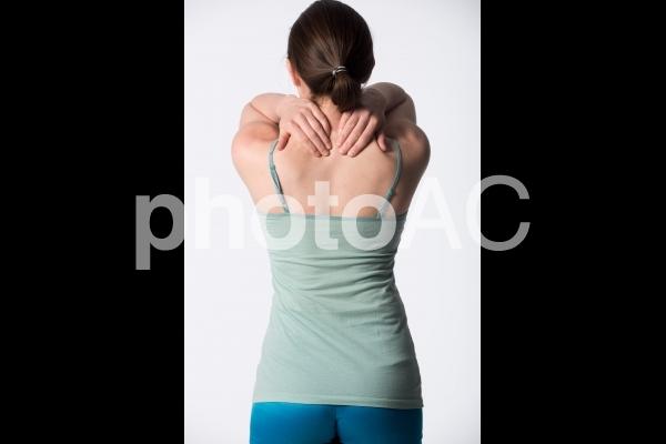 女性の背中9の写真