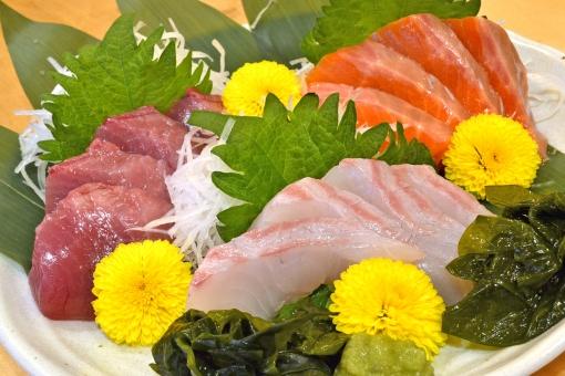 造り 刺し身 さしみ 刺身 生魚 魚 鮮魚 海鮮 海の幸 鯛 たい サーモン 鮭 マグロ まぐろ 鮪 和食 日本食 割烹