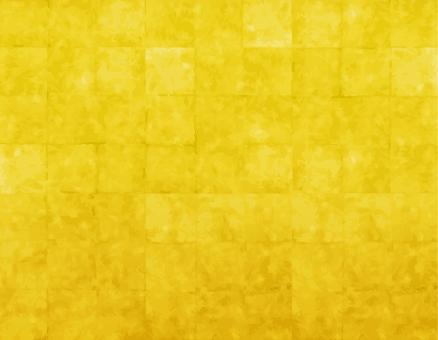 年賀状素材お正月謹賀新年金箔屏風和風背景市松模様格子柄和紙古紙アンティークレトロの写真