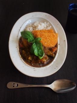 カレーライス カレー かれー curry コロッケ ころっけ バジル croquette