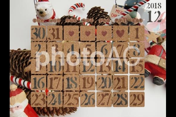 カレンダー 2018年12月 2の写真