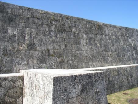 首里城下之御庭 首里城の下之御庭 首里城城壁 下之御庭 首里城