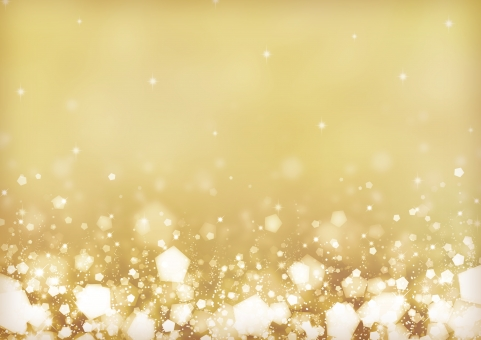 背景 背景素材 テクスチャ 冬 ふゆ 雪 ゆき クリスマス Xmas フレーム 枠 パーティー ゴールド イエロー 黄色 キラキラ きらきら 輝き 光 ふんわり ふわふわ テキストスペース 模様 柄