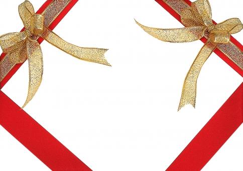 リボン りぼん ribbon プレゼント クリスマス Christmas Xmas christmas サンタクロース 誕生日 誕生日カード フレーム プレート ポップ 広告 お誕生日カード カード card バックグルアンド 背景白 サンタ 冬 リボン素材 包装 プレゼント包装 プレゼント背景 豪華 メッセージ メッセージカード birthday