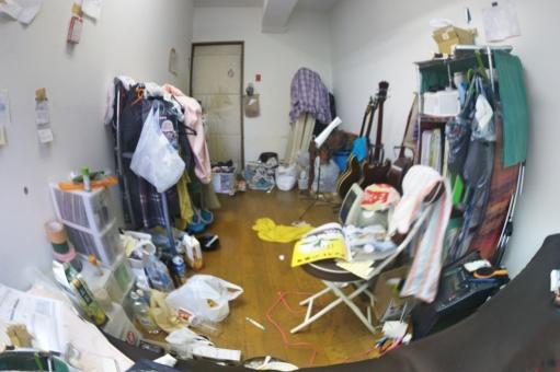 汚い部屋に関する写真写真素材なら写真ac無料フリー