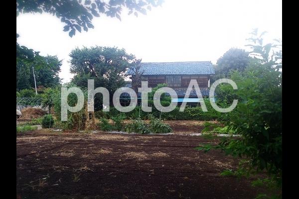 田舎の家の写真