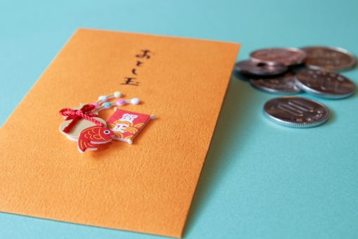 おとしだま 硬貨 お金 鯛 たこ ひょうたん おとし玉 100円玉 クラフト 正月 お正月 ポチ袋