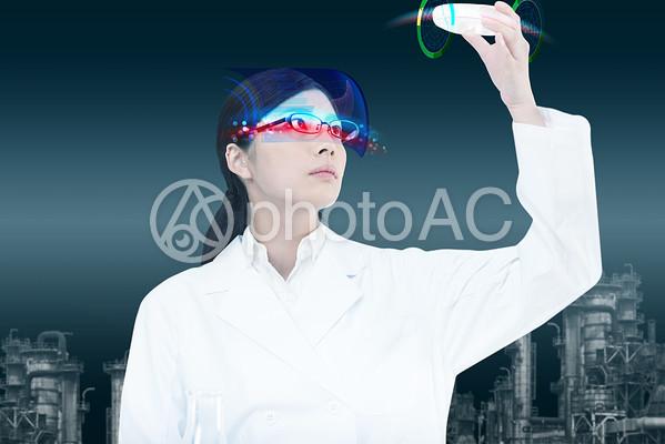 近未来の女性の写真