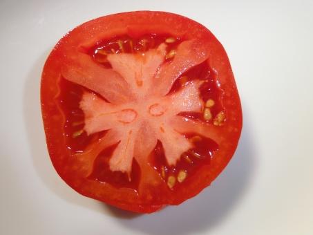 トマトの断面 No 写真素材なら 写真ac 無料 フリー ダウンロードok