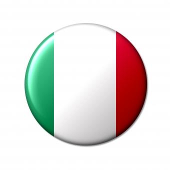 イタリア イタリア共和国 italia italy 伊 サミット トリコローレ 三色旗 国旗 国 先進国 g7 世界 シンボル 象徴 丸 旗 フラッグ ユーロ euro ヨーロッパ 欧州