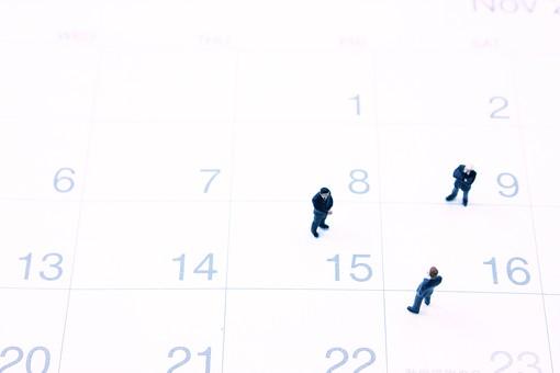 人形 フィギュア ミニチュア 人物 男性 ビジネスマン 社会人 サラリーマン 会社員 社員 日本人 管理職 ビジネス 仕事 働く カレンダー 予定 数字 日付 暦 期限 締め切り 期間 給料日 決算