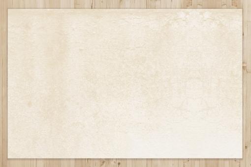 木目テクスチャとクラフト紙素材の写真