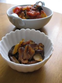 おかず 作り置き 常備菜 きのこ しいたけ ラタティーユ 野菜 夏 トマト なす パプリカ 玉ねぎ 煮込み 家庭料理 和食 イタリアン ルクルーゼ