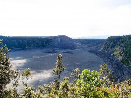 キラウエア火山 キラウエア 火山 クレーター ハワイ島 ハワイ 自然 台地