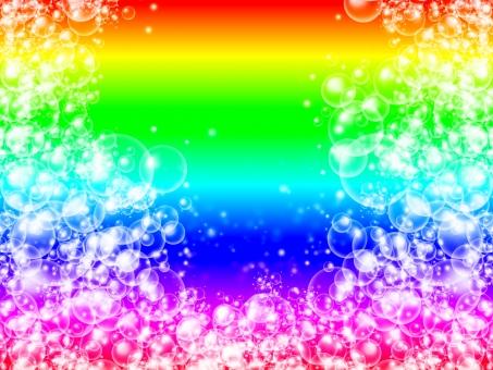 虹 にじ ニジ レインボー rainbow 賑やか おとぎ 話し 明るい しゃぼんだま しゃぼん玉 シャボン玉 グラデーション 七色 白 大きい 小さい 大粒 小粒 国 綺麗 水玉 ぶくぶく ぷくぷく 可愛い 濃い 恋愛 愛 恋 好き 気分 泡 エネルギー ごちゃごちゃ 楽しい 幸運 虹の日 ブクブク 派手 原色
