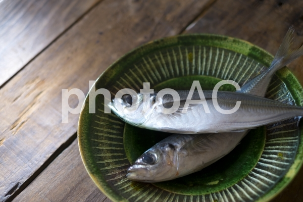 魚のアジの写真