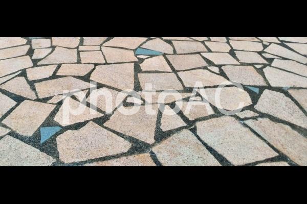 石畳 模様 テクスチャの写真