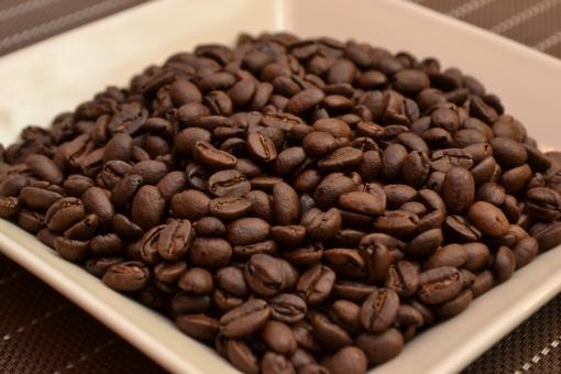 コーヒー豆 珈琲豆 コーヒー  珈琲  豆 飲み物   カフェ 喫茶 喫茶店 イメージ メニュー グルメ 深炒り