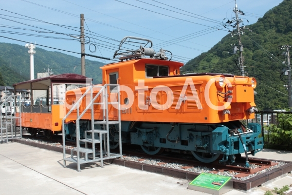 トロッコ電車01の写真