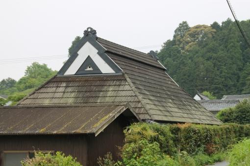 日本 japan 柳生 奈良 屋根 roof