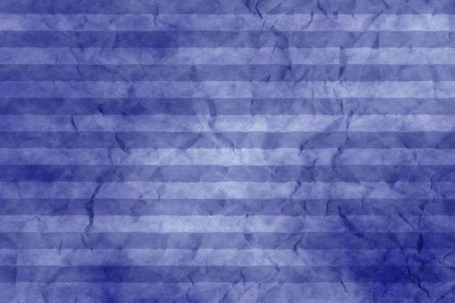 和紙 色紙 台紙 ちぢれ 紙 ゴワゴワ 凸凹 テクスチャー 背景 背景画像 ファイバー 繊維 しわ くしゃくしゃ ストライプ シマ 縞模様 ボーダー 青 群青 紺色 藍 ブルー ウルトラマリン
