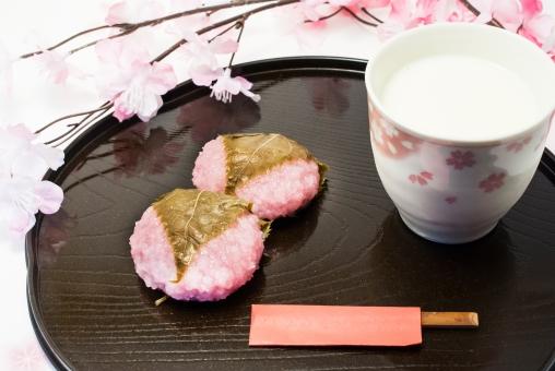 桜餅 甘酒 桜 春 ひな祭り イベント スイーツ 和菓子 楊枝 漆器 季節 もち米 酒 甘味飲料 米麹