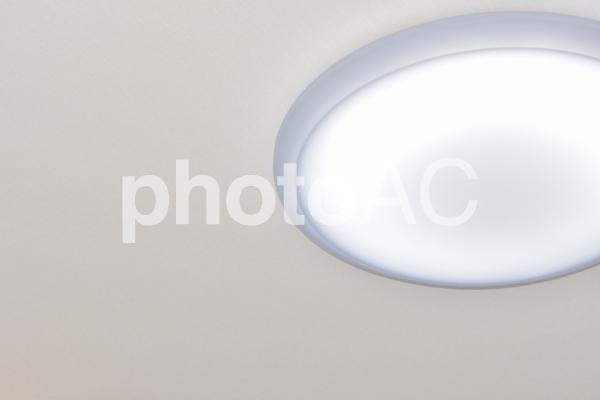部屋の照明 シーリングライトの写真