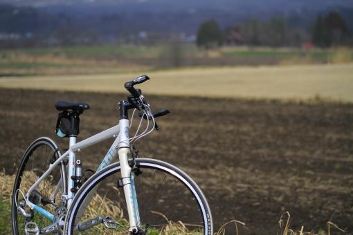 高原 自転車 サイクリング ポタリング 撮影 カメラ クロスバイク ビアンキ 蒜山高原 真庭市 岡山