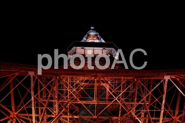 夜撮_東京タワー_1の写真