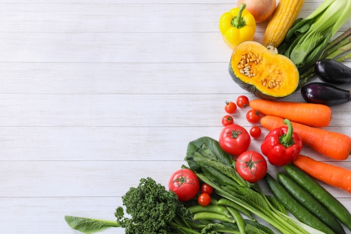 野菜の枠の写真