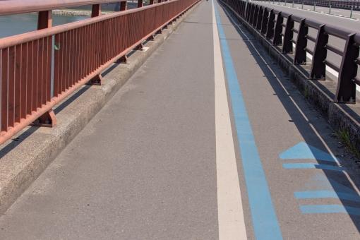 宮崎大橋の歩道2の写真