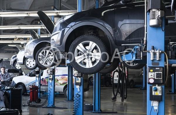 自動車整備工場1の写真